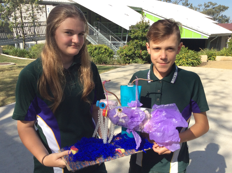 RECYCLED ART PROJECT SHOWCASING LDHS TO AUSTRALASIA